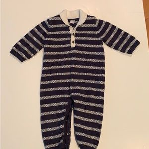 Janie and jack sweater Coverall